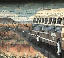 Tucumcari Bus by Andrew Felton