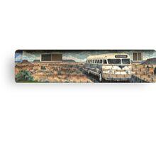 Tucumcari Bus Canvas Print
