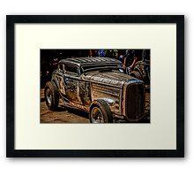 Rat Rod Framed Print
