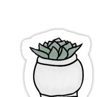 Potted Succulent Sticker Pack Sticker