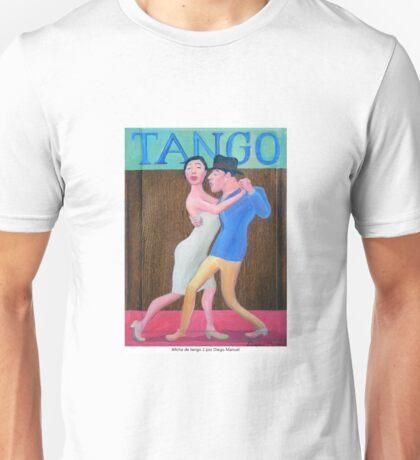 Afiche de tango 2 por Diego Manuel Unisex T-Shirt