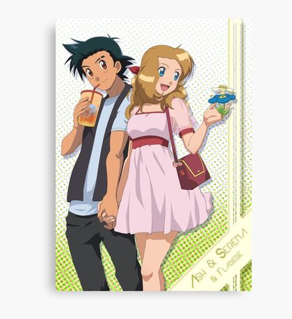 Amourshipping - First Date Canvas Print