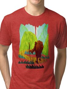 Long Road Ahead Tri-blend T-Shirt