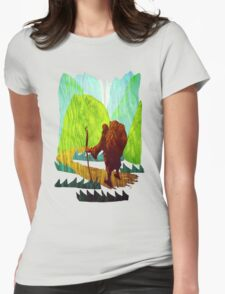 Long Road Ahead Womens Fitted T-Shirt
