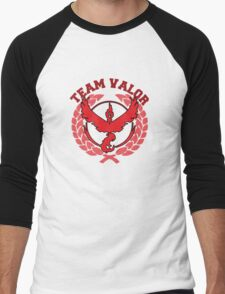 Team Valor - Pokemon Go! Men's Baseball ¾ T-Shirt