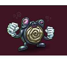 Punch-Drunk Poliwhirl Photographic Print