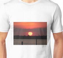 Island Park Big Sun Ball Sunset Unisex T-Shirt
