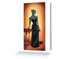 Madame KL-E-0 Greeting Card