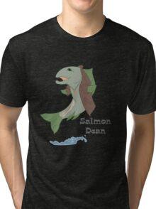 Salmon Dean Tri-blend T-Shirt
