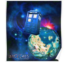Whovians Best Facebook Group Art Dedication (07/2016) Poster