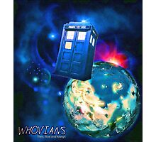 Whovians Best Facebook Group Art Dedication (07/2016) Photographic Print
