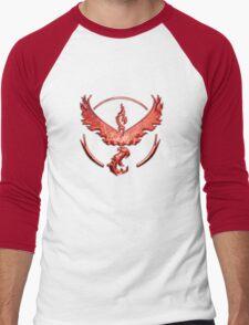 Team Valor Metallic Emblem Men's Baseball ¾ T-Shirt