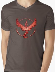 Team Valor Metallic Emblem Mens V-Neck T-Shirt