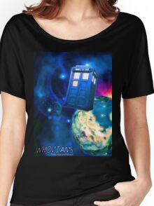 Whovians Best Facebook Group Art Dedication (07/2016) Women's Relaxed Fit T-Shirt