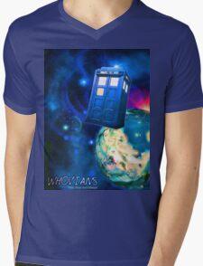 Whovians Best Facebook Group Art Dedication (07/2016) Mens V-Neck T-Shirt