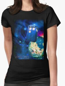 Whovians Best Facebook Group Art Dedication (07/2016) Womens Fitted T-Shirt