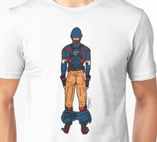 Captain AmeriBUTT (light) Unisex T-Shirt