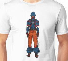 Captain AmeriBUTT (dark) Unisex T-Shirt