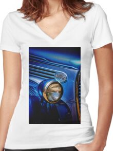 Ford Women's Fitted V-Neck T-Shirt