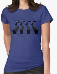 The Crows Womens Fitted T-Shirt