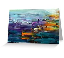 colorful Contemporary by rafi talby Greeting Card