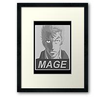 Mage Framed Print