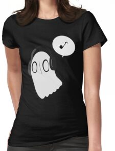 napstablook Womens Fitted T-Shirt
