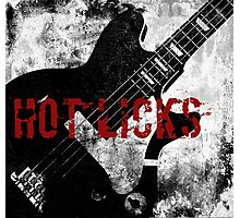 Rock-n-Roll Guitar Photographic Print