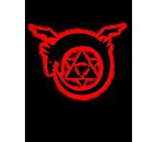 fullmetal alchemist brotherhood homunculus Graffiti Photographic Print