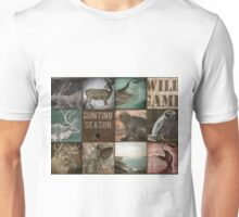 Hunting Season Patchwork Unisex T-Shirt