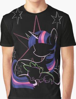 Twilight Sparkle Contour Graphic T-Shirt