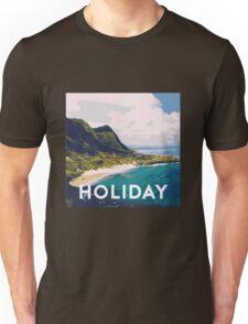 Beach holiday landscape Unisex T-Shirt