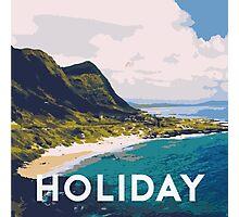 Beach holiday landscape Photographic Print