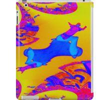 psychedelic Skating iPad Case/Skin