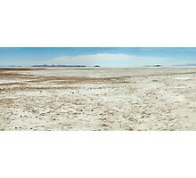 Spiral Jetty Location Dry Landscape Photographic Print