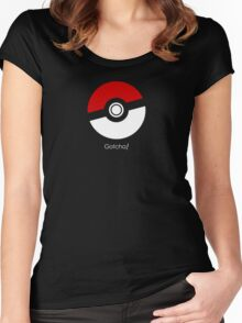 Pokemon Go! Gotcha gear Women's Fitted Scoop T-Shirt