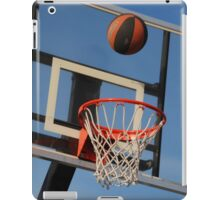Going for a Basket! iPad Case/Skin