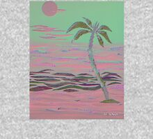 ISLAND PALM COLLAGE IN PINK Unisex T-Shirt