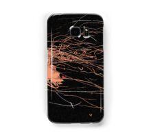 Sparks on Black no. 3 Samsung Galaxy Case/Skin