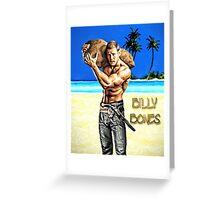Billy Bones Greeting Card
