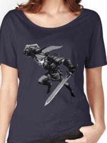 twilight princess link monochrome Women's Relaxed Fit T-Shirt