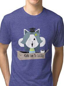 send tem to colleg Tri-blend T-Shirt