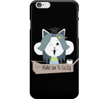 send tem to colleg iPhone Case/Skin