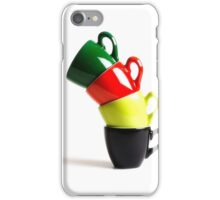 Colored Cups iPhone Case/Skin