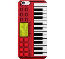 Synth Midi Controller - Red06 iPhone Case/Skin