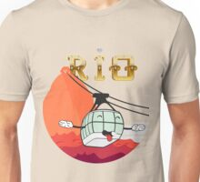 The Face of Rio - Cable Car of Sugar Unisex T-Shirt