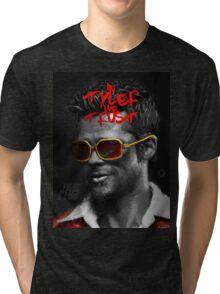Tyler Durden - Illustration Tri-blend T-Shirt