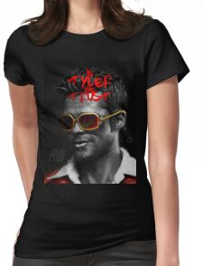 Tyler Durden - Illustration Womens Fitted T-Shirt