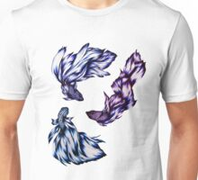 Three Swimming Unisex T-Shirt