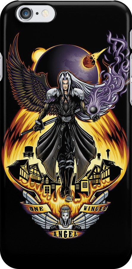One Winged Angel - Phone Case by TrulyEpic